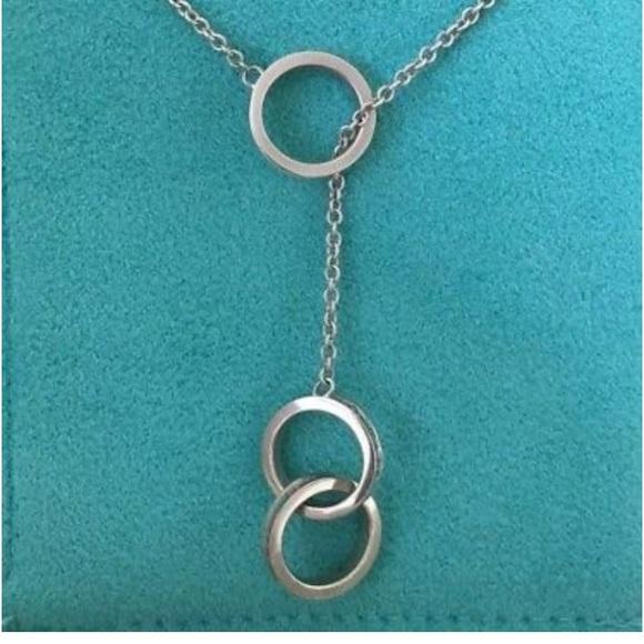 e556cb4a20565 Tiffany & Co 1837 Interlocking Circles Lariat